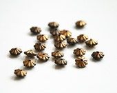6mm reclaimed vintage spacer beads