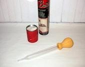 Mid-Century Chaney Pyrex Glass Baster Vintage 1950's Original Case PRICE REDUCED