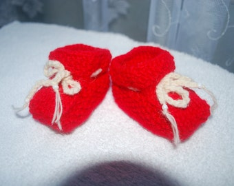 On sale, Handmade baby booties
