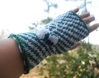 On sale,Handmade fingerless gloves