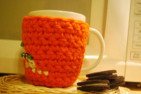 On sale,handmade cup cozy