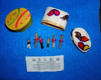 Guatemalan Worry Dolls.