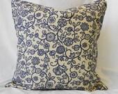 Decorative Pillow Cover, Blue, 20x20