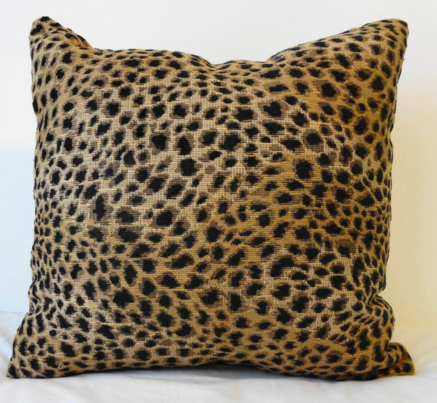 Animal Pillows : Leopard Print Decorative Pillow Cover Cheetah Animal Print