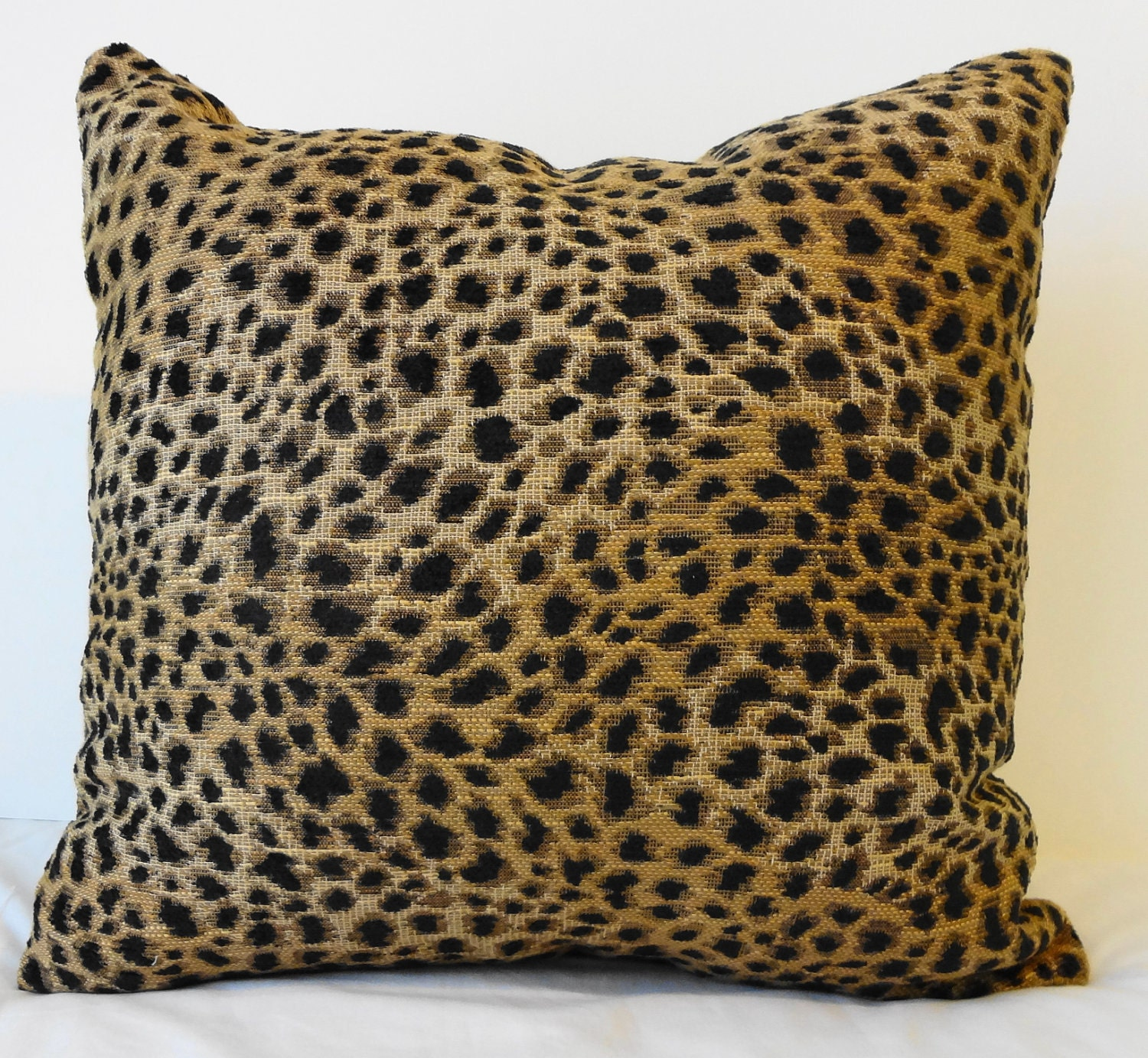 Leopard Print Decorative Pillow Cover Cheetah Animal Print