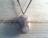 Ceramic Pendant, Buddha Bead, Spring Fashion, Ceramic Jewelry, Unique Gift
