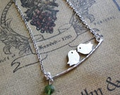 Daddy & Mommy Bird Necklace