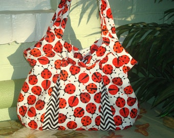 Small cotton granny bag
