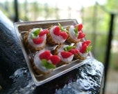 Kawaii Cute Miniature Food Ring