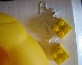 Lego Brick Earrings
