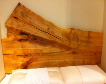 Live Edge Headboard, Hard Maple