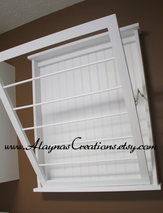 reserved custom listing wall mounted laundry drying rack. Black Bedroom Furniture Sets. Home Design Ideas