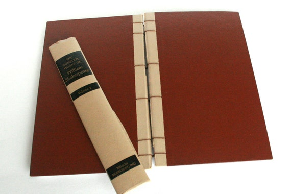 coptic bound journal or diary