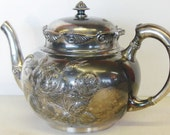 Quadruple Plate Teapot by Middletown Plate Company