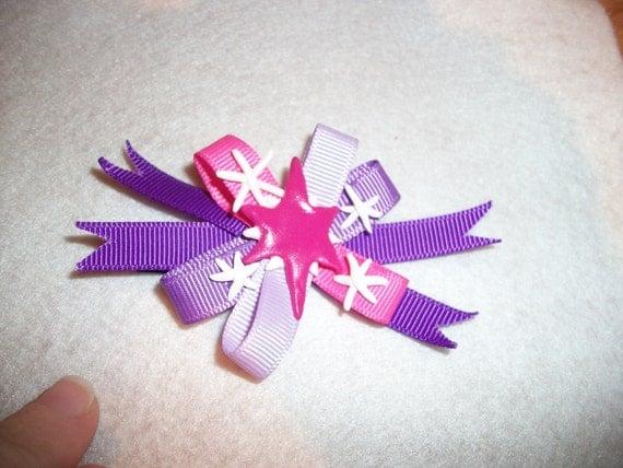 Twilight Sparkle hair clip