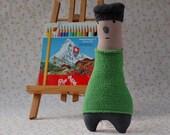 Hugo one of a kind plush toy