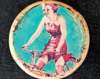 Shelley Pin-Up Pendant by Heather Wynn Millican