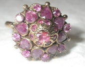 Reserved         Vintage 10K Gold Ruby Harem Ring