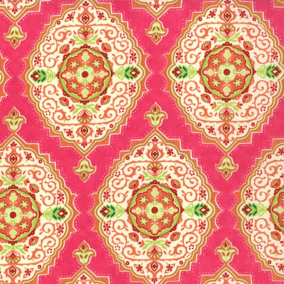 Pink Tile from Tradewinds by Moda