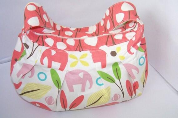 Modern Baby Girl Diaper Bag
