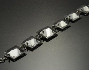 Vintage Chandelier Crystal Bracelet