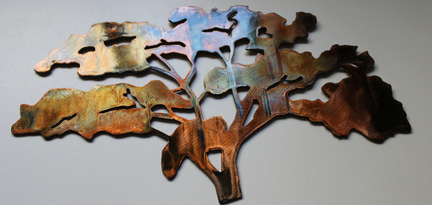 The Old Oak Tree Metal Wall Art By HEAVENSGATEMETALWORK On