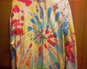 Tie Dyed Sweatshirt