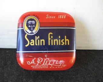 Vintage A.P. LITTLE Satin Finish Typewriter Ribbon