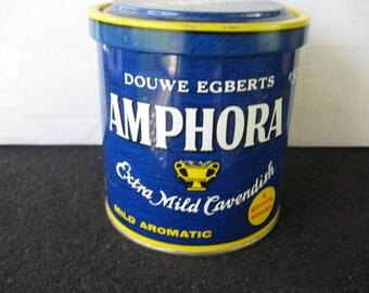 Vintage DOUGHE EGBERTS AMPHORA Pipe Tobacco Tin