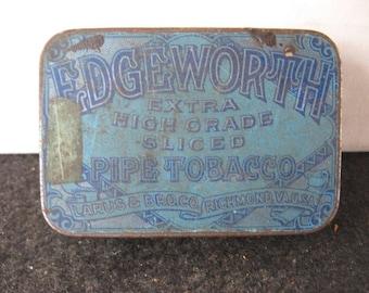 Vintage Edgeworth Tobacco Tin