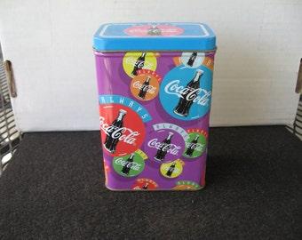 Collectible Coca Cola Decorative Tin