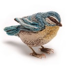 Blue Tit Small Fabric Bird