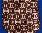 CC Necktie by Brittania - David Hicks - Brown Tie