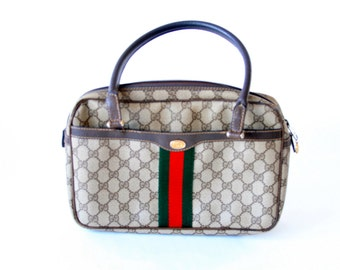 Vintage 70's 80's  GUCCI accessories Bag - Speedy Type Bag - Cute