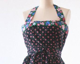 Albert Capraro - Black Flower Dress