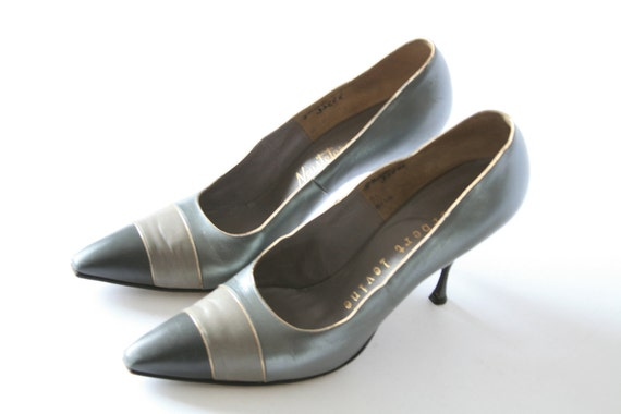 Herbert Levine - Silver Grey Shoes - Size 75