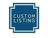 Custom listing for mere1975