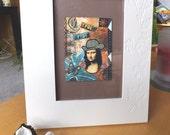 Framed 'True Artist' ATC
