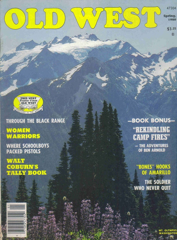 Old West Magazine - Spring 1980