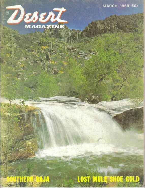 Desert Magazine March 1969 - Southern Baja
