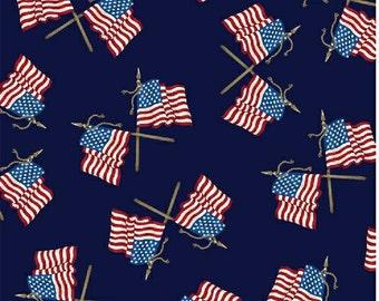 ON SALE 40-50% OFF - American Tribute - Crossed Flags