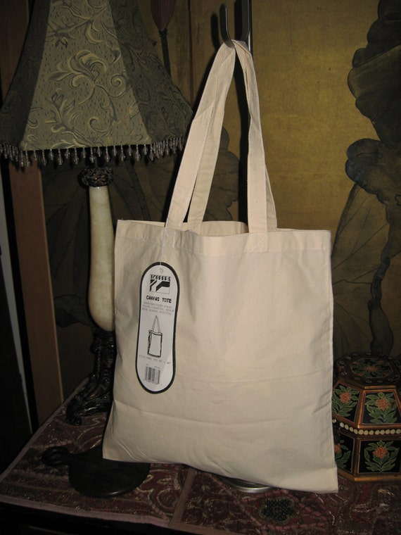 Reserved 4 Martha - Lot of 12 - 100% Natural Cotton Canvas Tote Bag