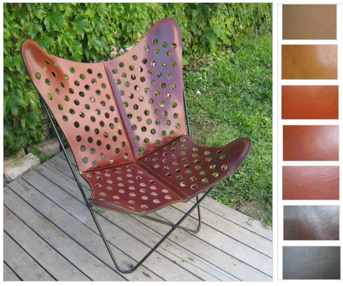 Butterfly chair original - Vintage Leather Butterfly Chair Viewing Gallery
