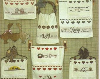 Cross Stitch Book:  Towel Time