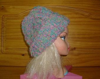 Hand Knit Child's Hat