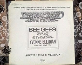 "Saturday Night Fever Special Disco Version"" Vinyl Record.: Blast from the past - Retro Music"