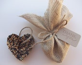 40 Bird Seed Ornament - Wedding favor