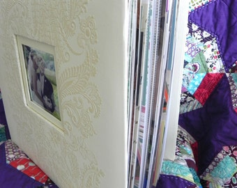 CUSTOM 12x12 Wedding Scrapbook Album, 50 pages