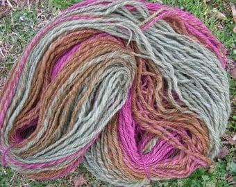 3-Ply Handspun Soft Polwarth Yarn
