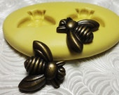 BUMBLE BEE Mold Flexible Silicone Push Mold for Resin Wax Fondant Clay Fimo PMC 6102